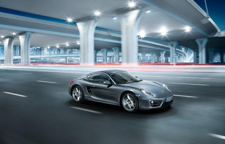 The all-new Porsche Cayman.