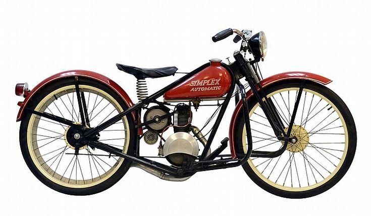 1952 Simplex Servi-Cycle Motorcycle