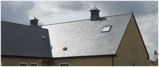 Cembrit Glendyne slates share similar properties to those of Welsh slates and have been approved for use on roofs in the Snowdonia National Park.