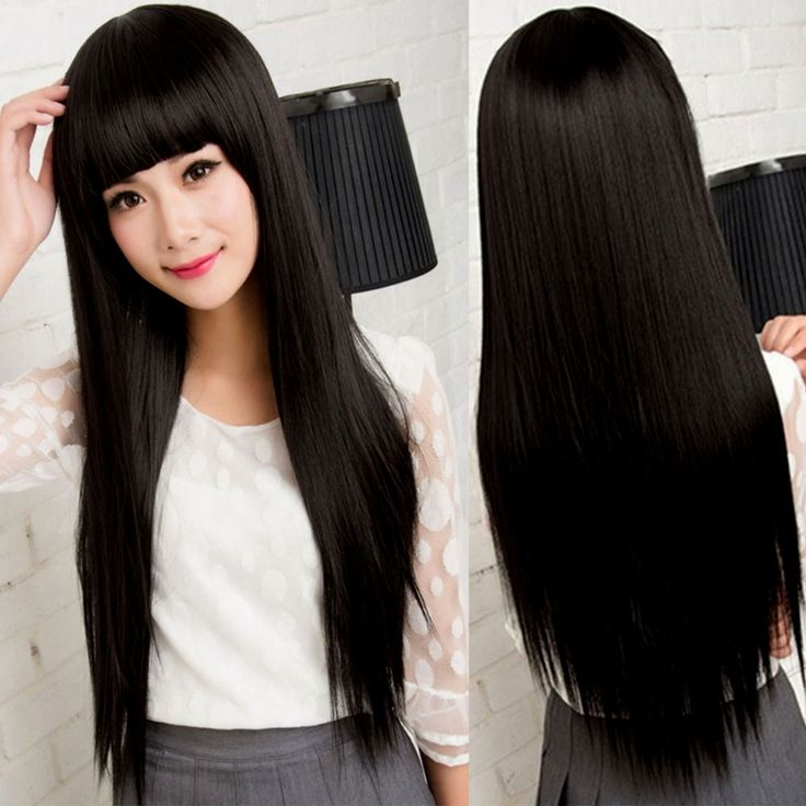 Japanese Long Straight Hairstyles