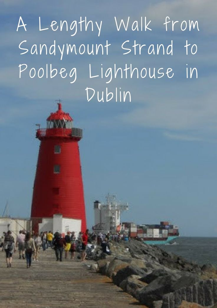 A Lengthy Autumn Walk from Sandymount Strand to Poolbeg Lighthouse in Dublin   Sidewalk Safari