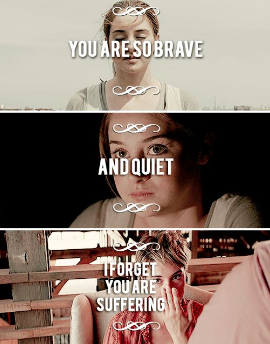 Tris Prior. This describes me too actually almost perfectly.... *gasps* Maybe I'm Tris....lol