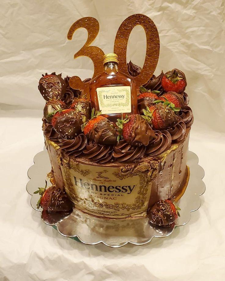 Chocolate henny cake cake baking birthday cake