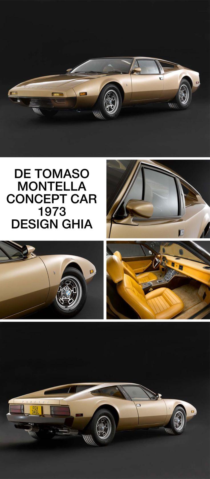 ▶▶▶ De Tomaso Montella Concept Car – {1973}, ◇ Ghia