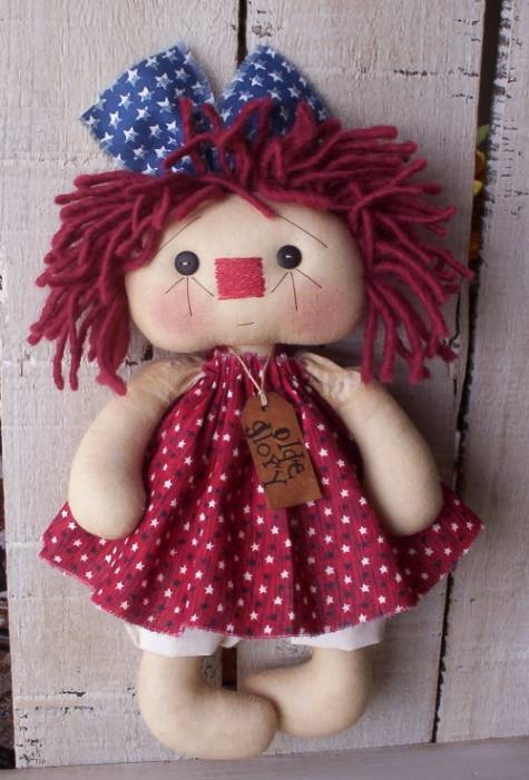 The Craftaholic Creations: Olde Glory Annie