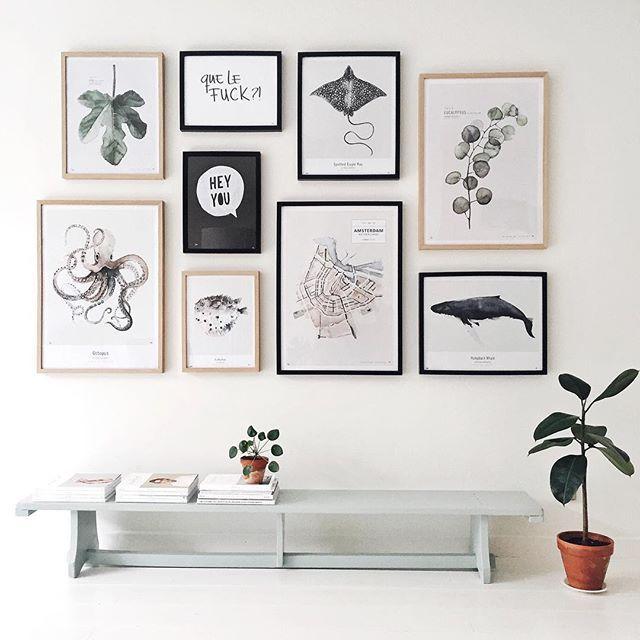 Interiør prints
