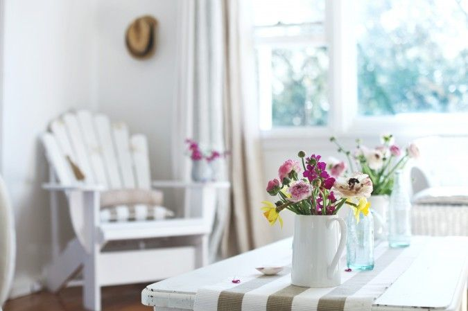 Beach Cottage Year in Review ~ Coastal Living, White Paint and Beach Decor