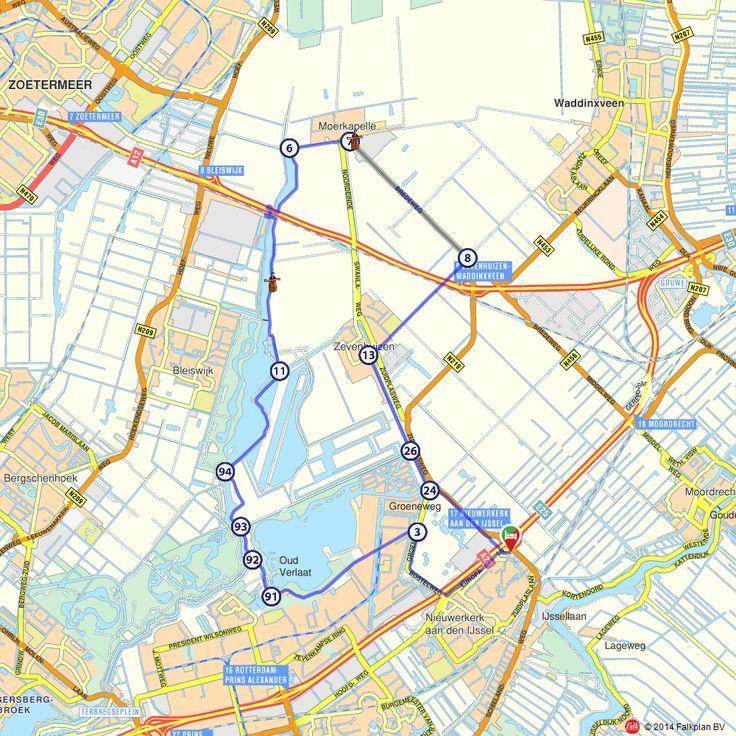 Fietsroute: Langs de Zevenhuizerplas en de Rottemeren  (http://www.route.nl/fietsroutes/144212/Langs-de-Zevenhuizerplas-en-de-Rottemeren/)