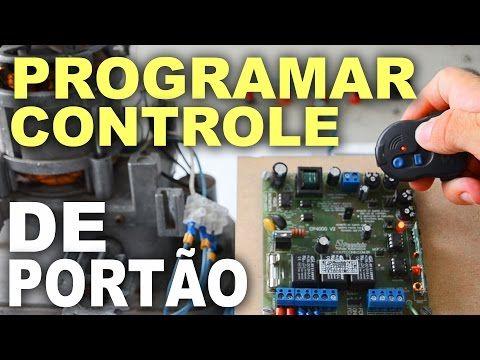 Como codificar controle remoto de portão automático - Passo a passo - YouTube