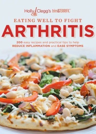 Arthritis cookbook with easy healthy recipes & tips to help reduce inflammation & ease symptoms. Includes diabetic, gluten-free recipes &nutritional information