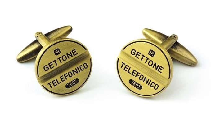 Gemelli da polso GETTONE TELEFONICO