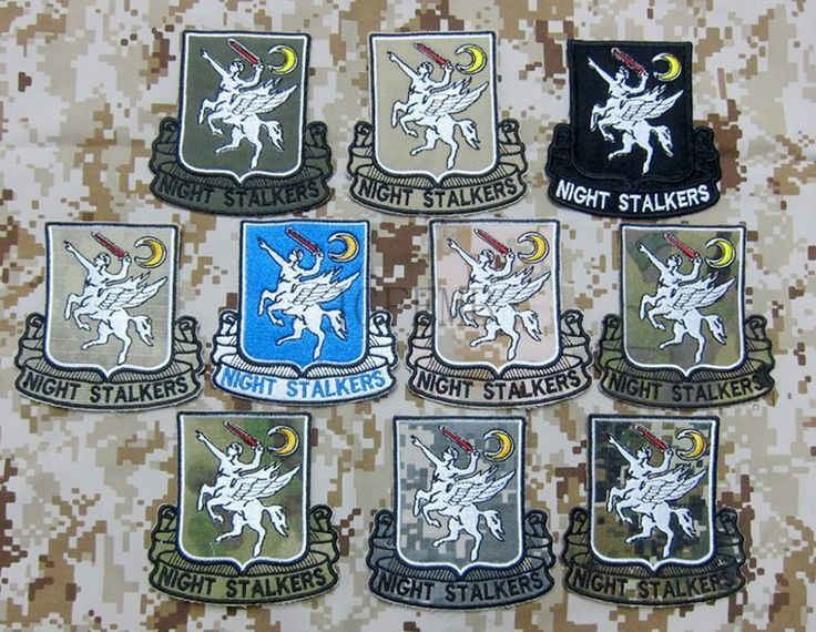 Multi color SEAL TEAM Operation Red Wings 160th SOAR NIGHT STALKERS  Morale Military Embroidery patch Badges #Affiliate