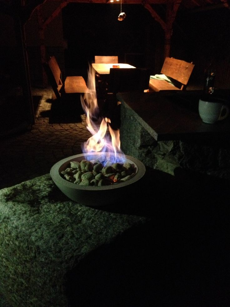 DIY Beton Feuerschale