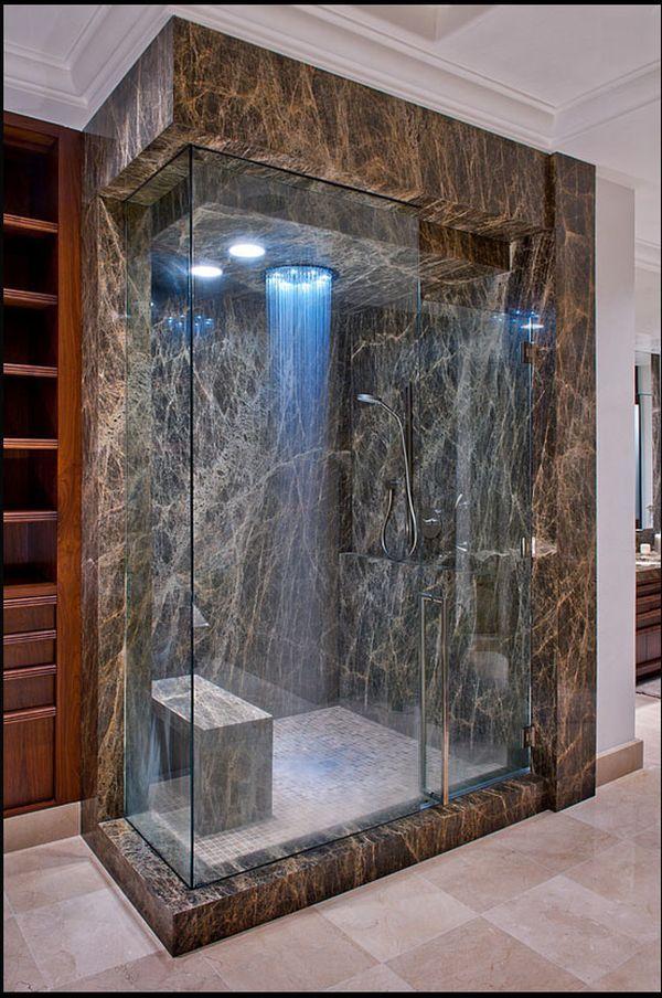 25 Diseños frescos de la ducha que te dejará deseo de más