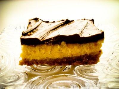 Cheesecake de crema de cacao