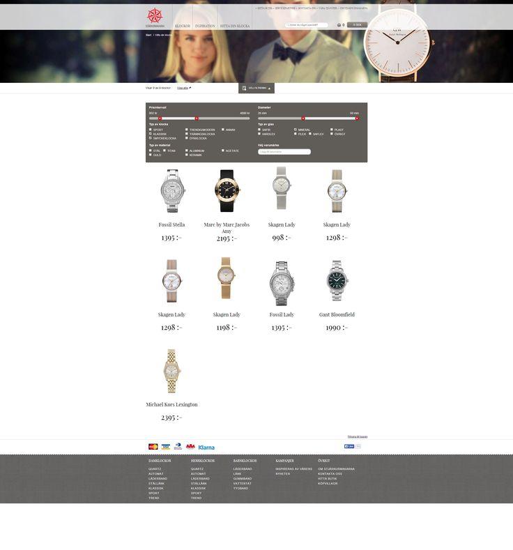 Responsive web page for Stjärnurmarkarna by Limetta. http://www.stjarnurmakarna.se/