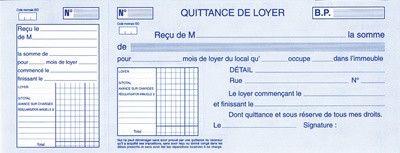 Impression Quittance De Loyer 2016