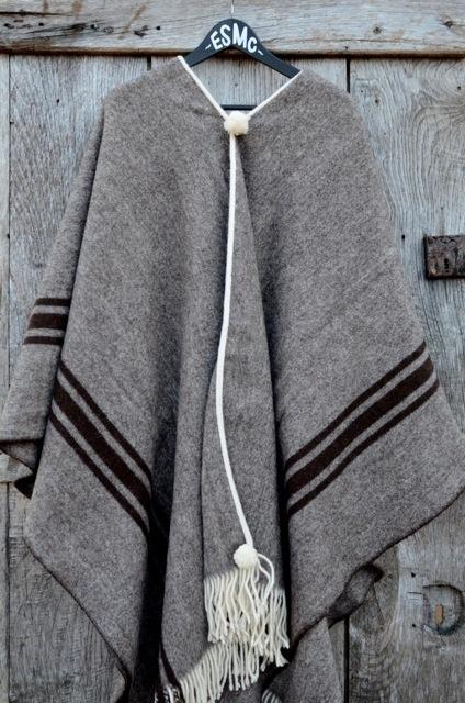 El Solitario MC 100% Merino Wool Poncho