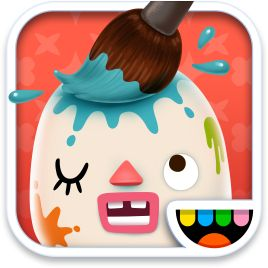 Toca Mini App. Toca Boca make THE best kids apps. Love them. This is their most recent. #kids #apps