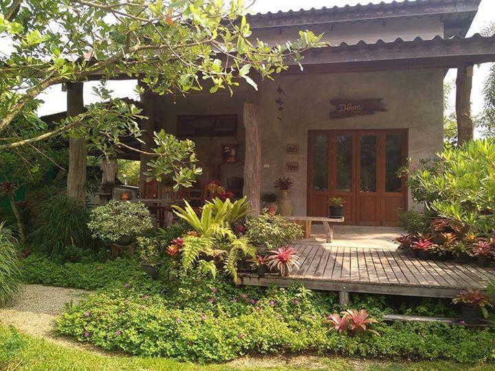 แบบบ านสวย ช นเด ยว ป นข ดม น House Design House Exterior Tropical House