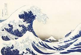 Bilderesultat for japansk kunst bølgen
