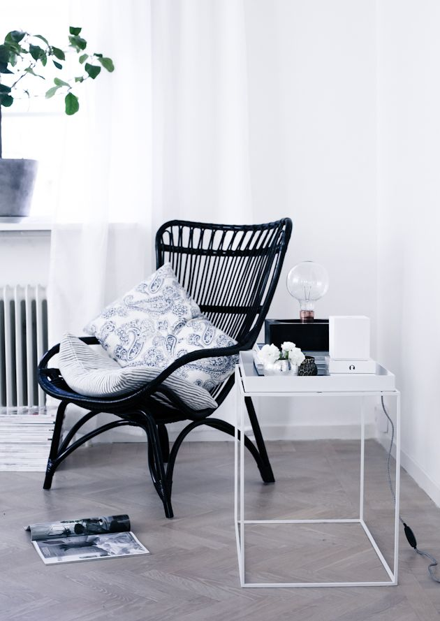 House of Philia. Nice chairs with black color. Beautiful inside and out.