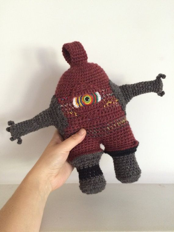 Monster Amigurumi Vol 5 : 303 best images about Amigurumi - aliens and monsters on ...