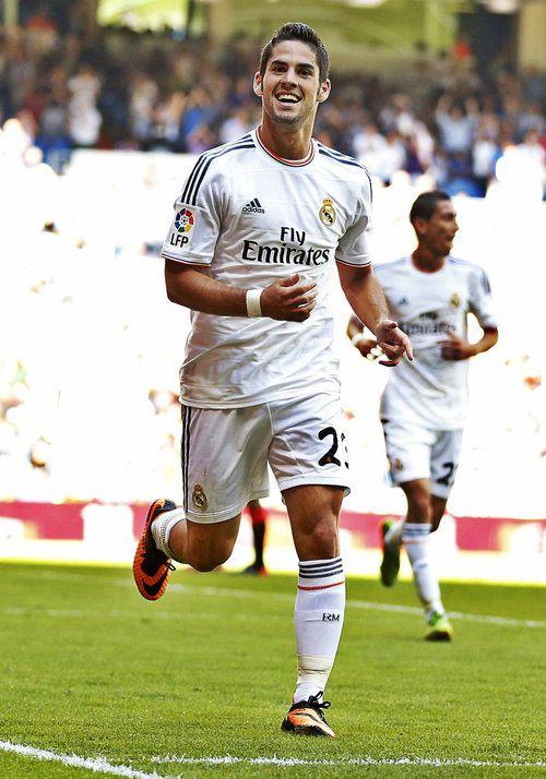 Isco gol - Celebración (Real Madrid - Ath Bilbao) 01/09/13