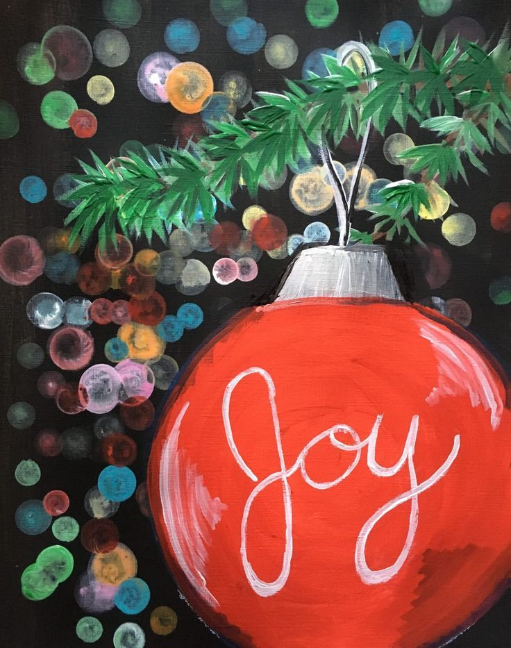 Easy Christmas Paintings Step By Step Painting With Tracie