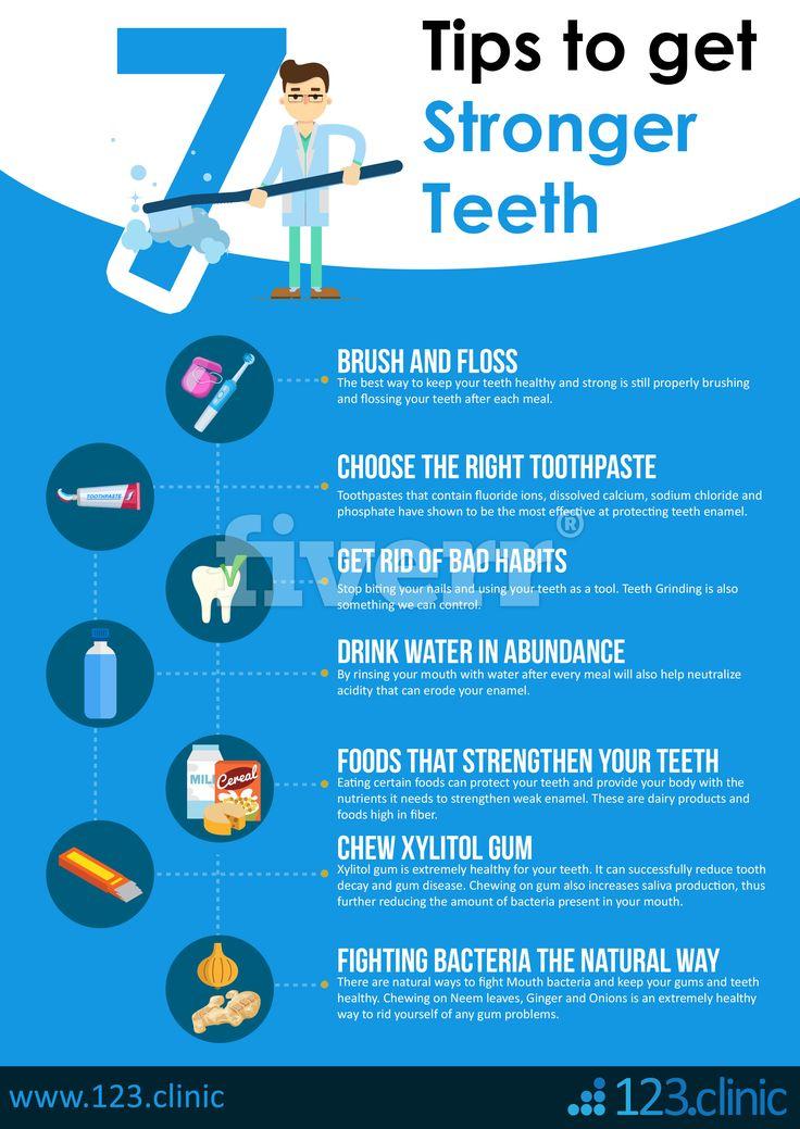 7 tips to get stronger teeth stronger teeth heath tips