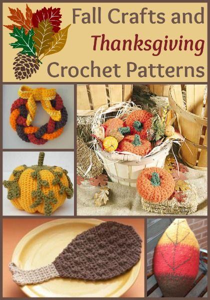 94 Fall Crafts and Thanksgiving Crochet Patterns | AllFreeCrochet.com