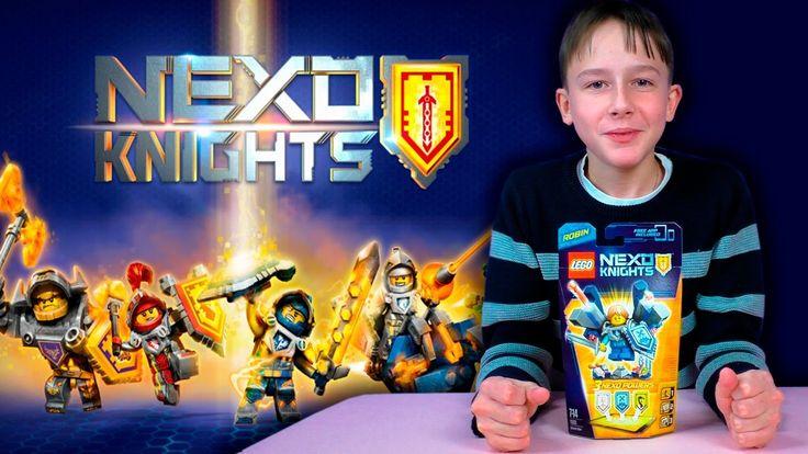 Lego Nexo Knights / РОБИН - АБСОЛЮТНАЯ СИЛА / 70333