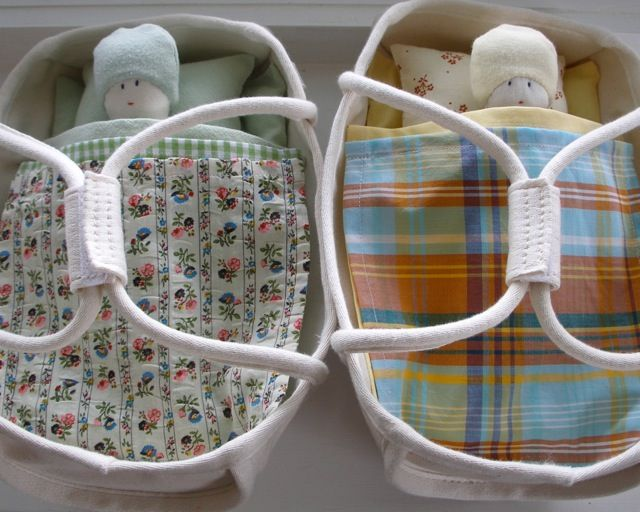 cloth dolls, canvas dolls beds and bedding