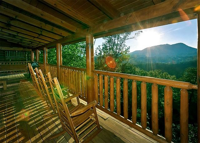 View From Splendid View #306. Pigeon Forge CabinsGatlinburg CabinsMountain  ...