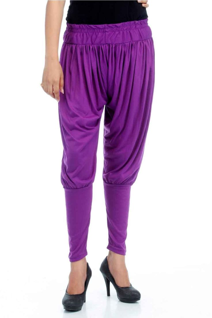 Adam n' eve Purple Jodhpuri Cotton Salwar @ Rs.399 only