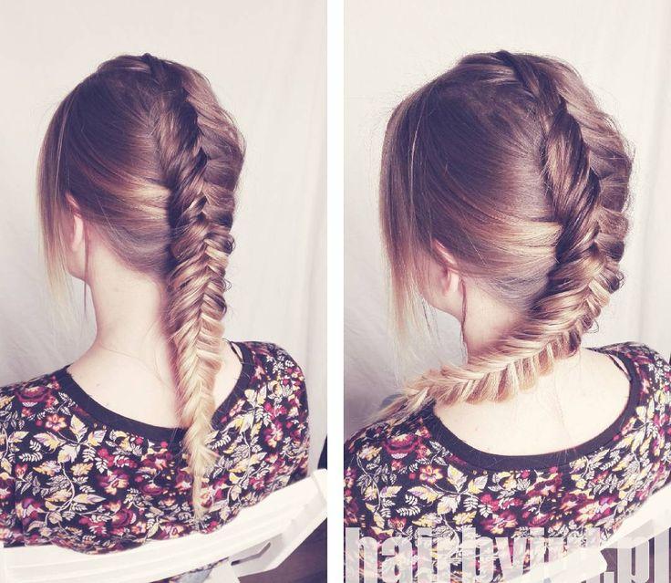 Niebawem tutorial :) #dutch #fishtailbraid #kłos #warkocz #braidphotos #hair #instahair #hairblog #hairstylist #instabraid #hairoftheday