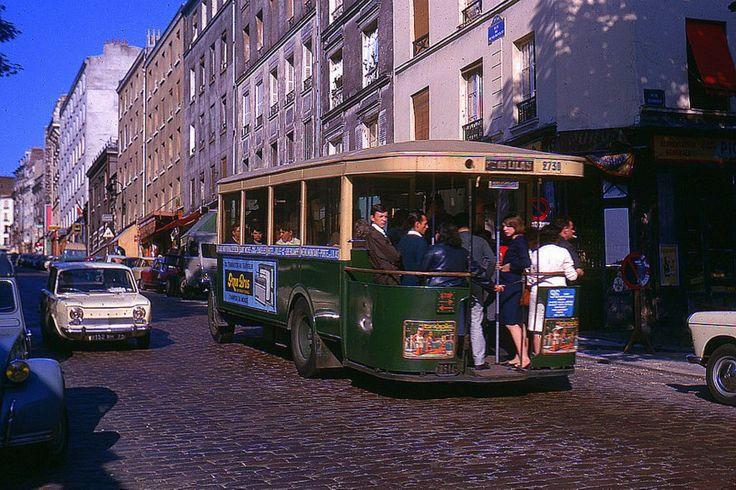 Ligne De Bus 96 Rue De M 233 Nilmontant Paris 20 232 Me 1964
