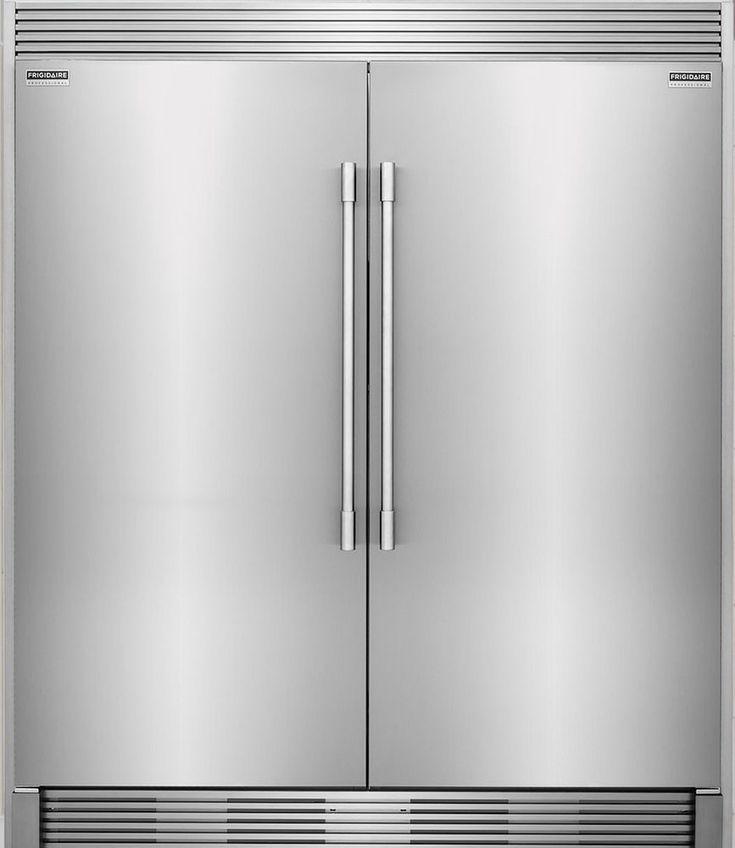 Frigidaire PRO Stainless Refrigerator Freezer Combo & Trim FPRU19F8RF FPFU19F8RF #Frigidaire