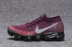91b207a816 Zero Defect NIKE AIR VAPORMAX FLYKNIT Black Purple women's Running Shoes  709384 010 - NikeLine.com