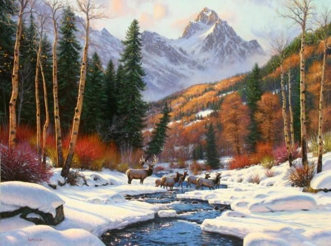 winter u0026 39 s blanket by mark keathley