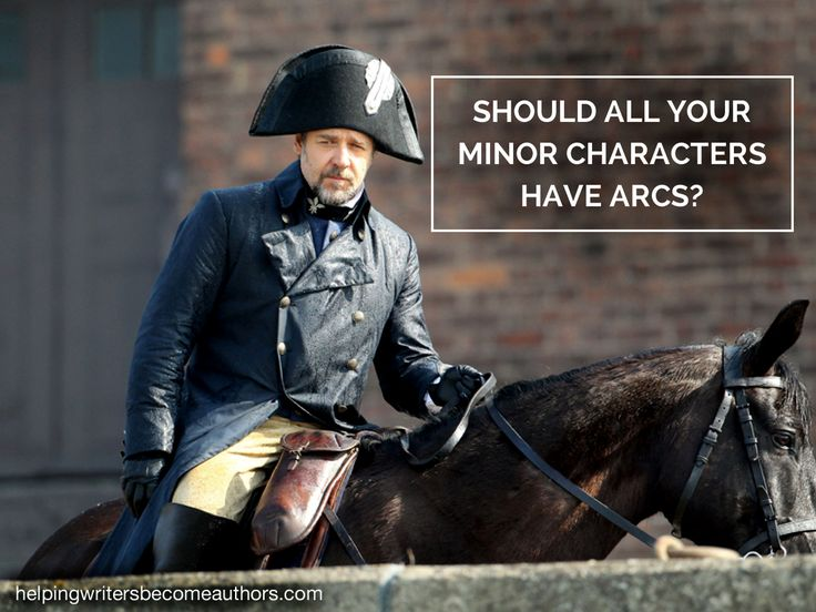 Should All Your Minor Characters Have Arcs? - Helping Writers Become Authors
