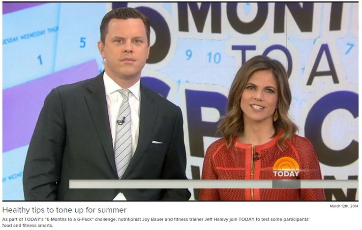 Today Show Fitness Expert Jeff Halevy shares healthy tips to tone up for summer http://www.today.com/video/today/54653724