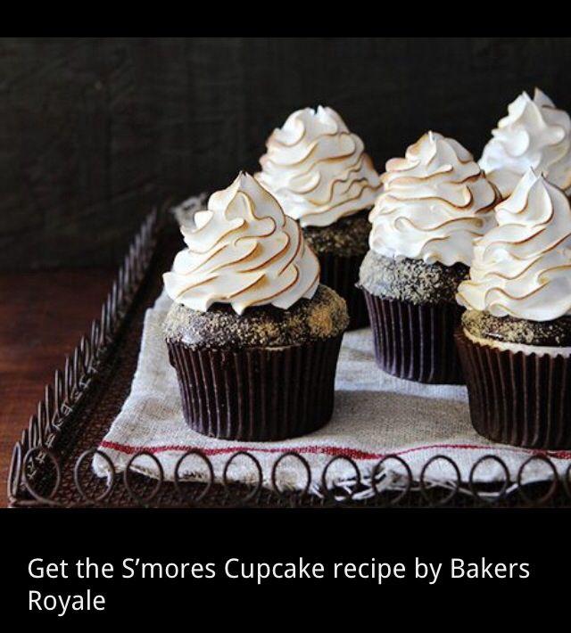 S'more cupcake