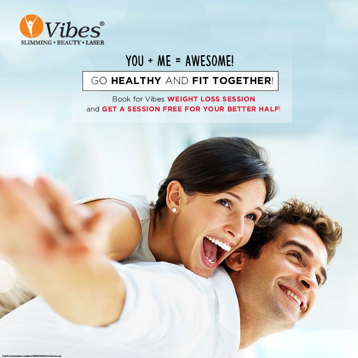 #Love week is on! Go crazy and awesome with your loved one at #Vibes. Book for #WeightLoss session and get a session free for your partner! Book now as this offer is valid only for 7 days!