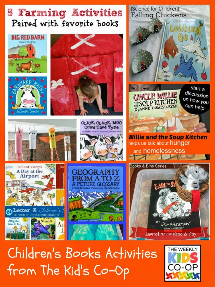 {Kid's Co-Op} Children's Book-Related Activities + Some Hunger Action Month Inspiration