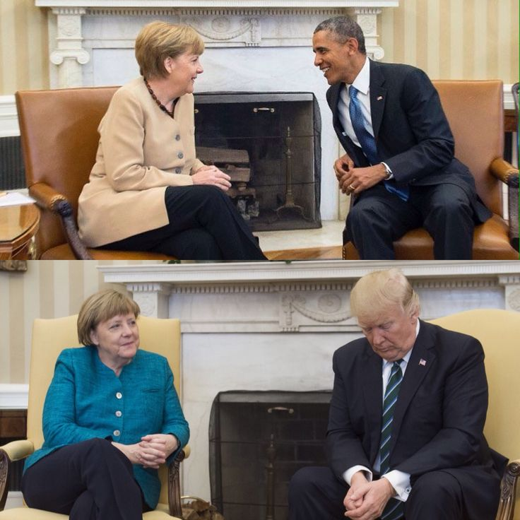 We went from a respected, beloved world leader to the disrespectful, world embarrassing 45. >>> Hang your head low 45