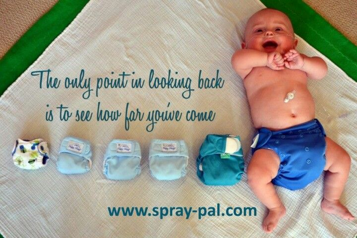 Wow cloth on a micro premie (weighing less than 2 lbs, and they used them in the nicu!) to his 1 yr birthday...