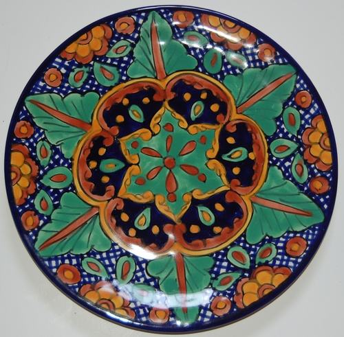 Example of Talavera dish