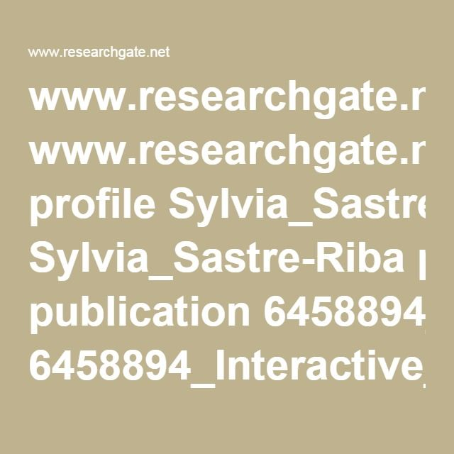 www.researchgate.net profile Sylvia_Sastre-Riba publication 6458894_Interactive_formats_and_executive_functions_in_early_development links 54eb14b80cf27a6de1166b9b.pdf