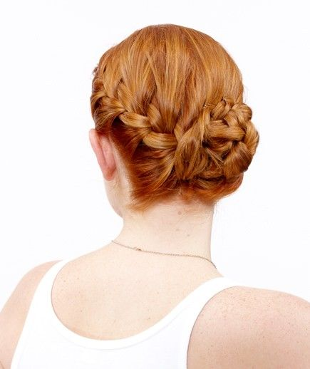 How to Do a Side French Braid Bun